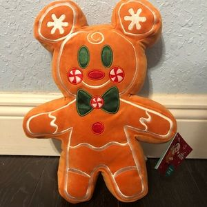 Gingerbread scented Mickey Mouse disney plush